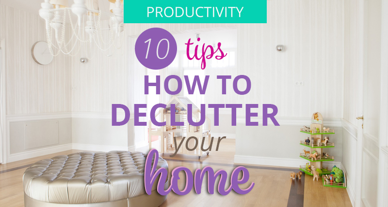Declutter your home with 10 easy tips for a minimalist for Minimalist house tips
