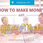 affiliate marketing making money online