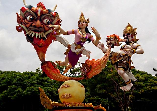 ooogh smf Nyepi in Bali
