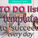to-do list template to succeed
