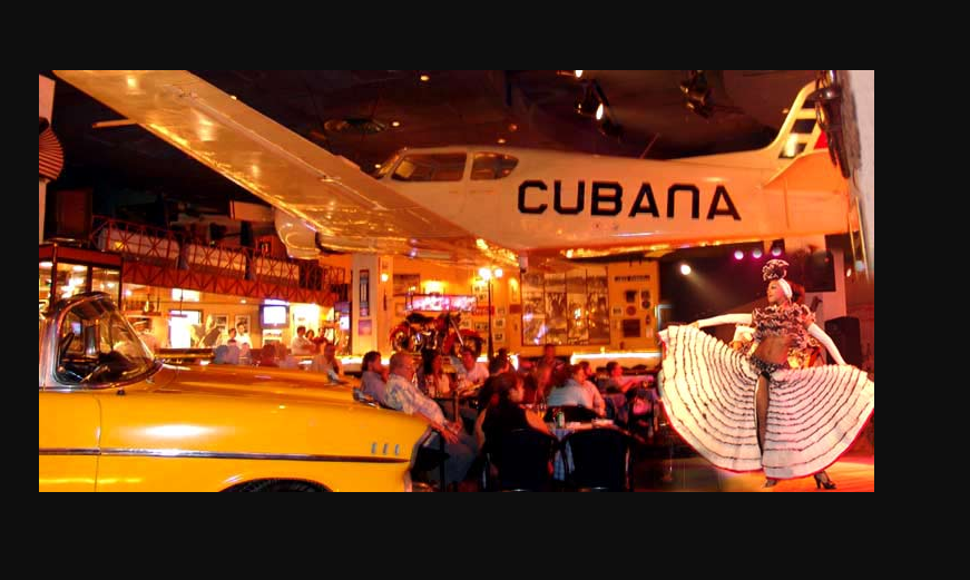 Visiting Cuba - go to Havana Cafe for nightlife