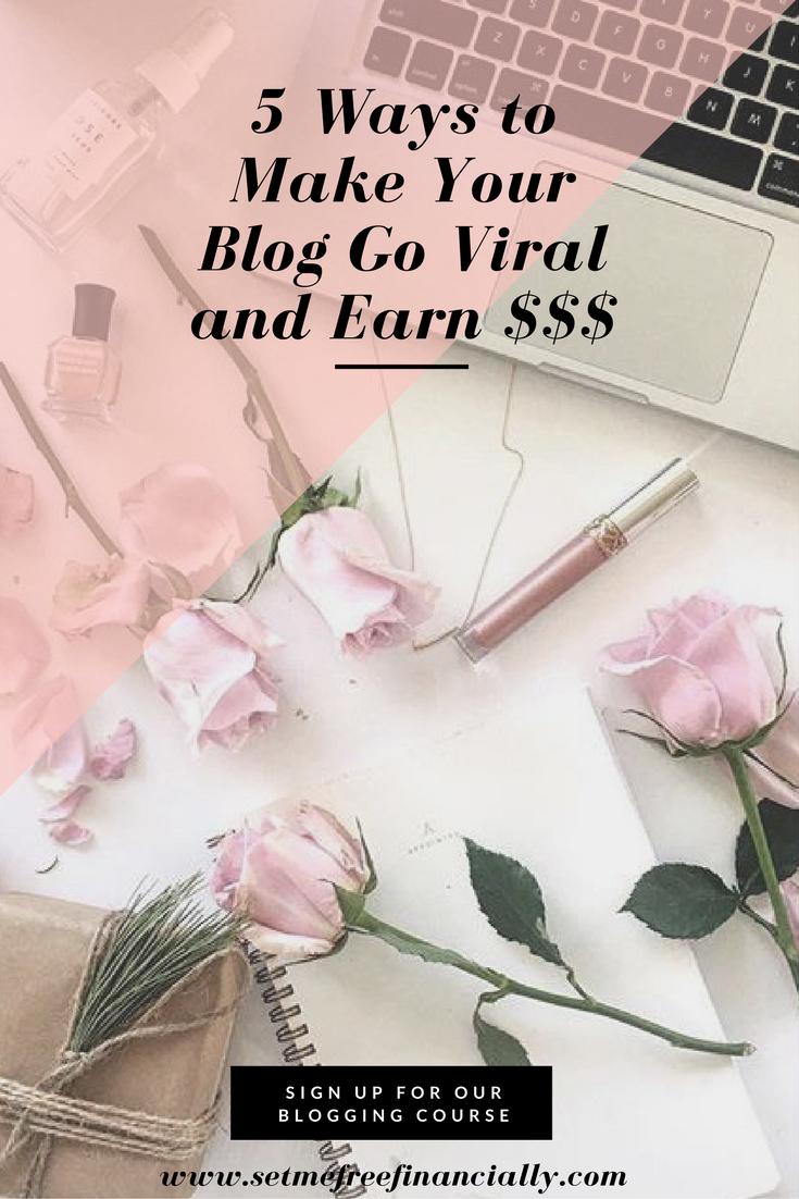 make your blog go viral