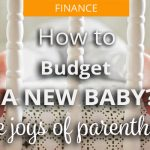 budget for a new baby