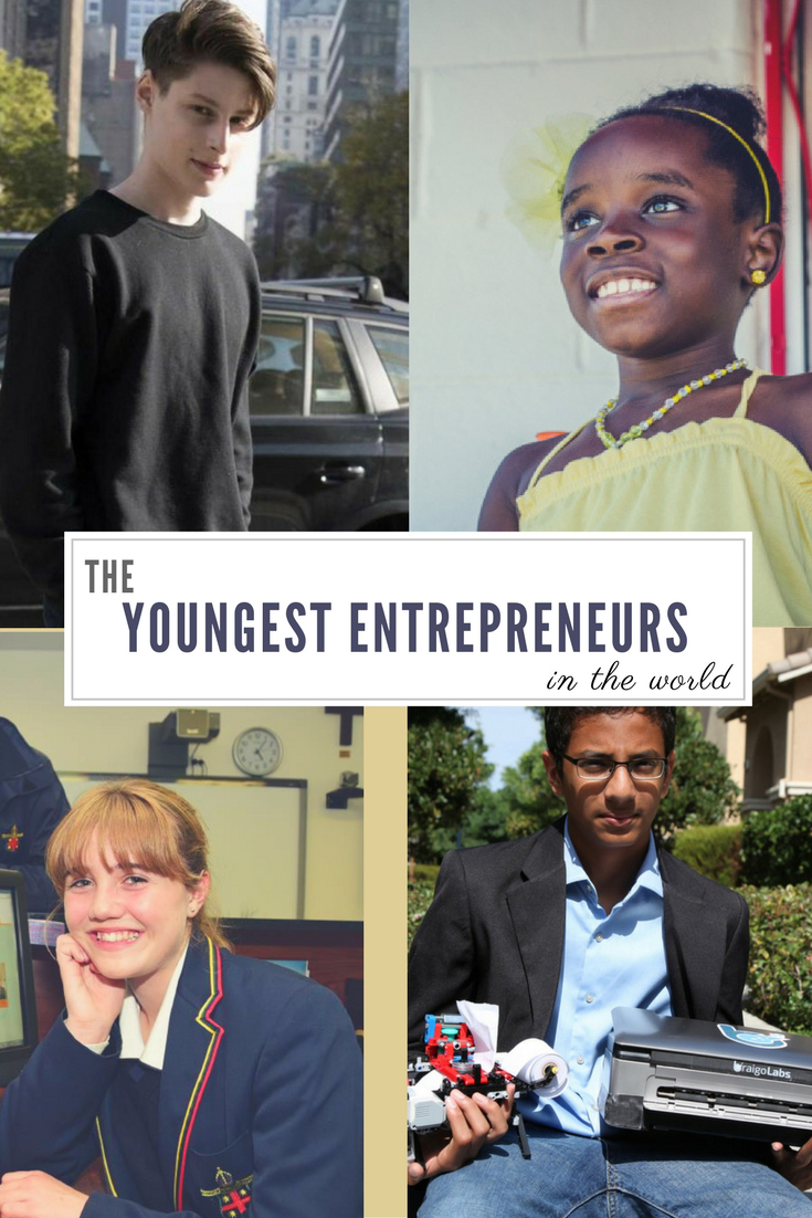 The Youngest Entrepreneurs